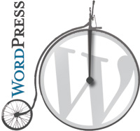 Webmaster freelance Lyon WordPress logo