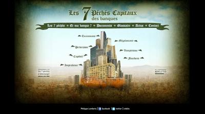 Synchronisation sonores - Les sept péchés capitaux des banques