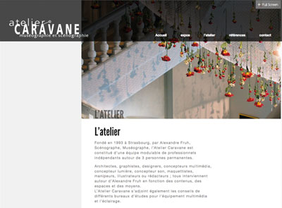 changer entête page thème the architect wordpress