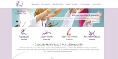 site web atelier yoga Hyères
