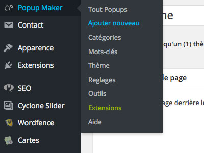 tutoriel popup maker wordpress