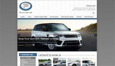 Site ecommerce vente voiture