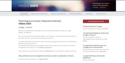 Hélene Sido site internet Limoges